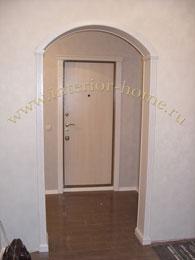 деревянные арки в квартире фото модерн