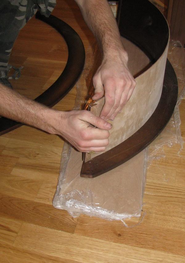 Как из двп сделать арку из